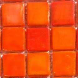 Orange opaline