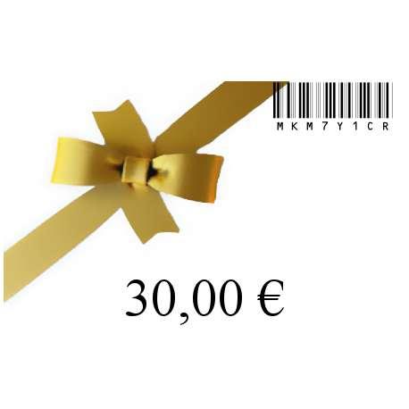 Chèque cadeau-30
