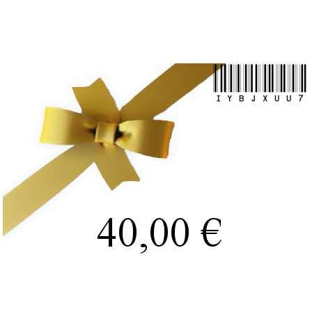 Chèque cadeau-40