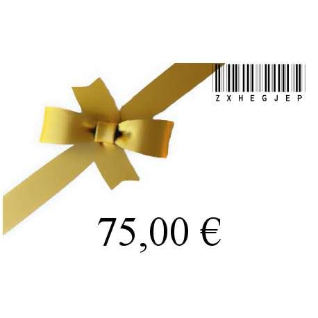 Chèque cadeau-75