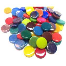 Pastilles multicolores 18 mm