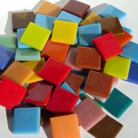 Pâte de verre espagnole en mélange de couleur