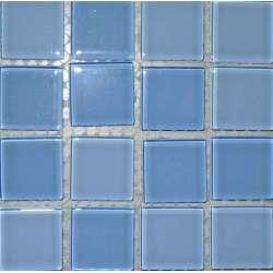 mosaique bleu