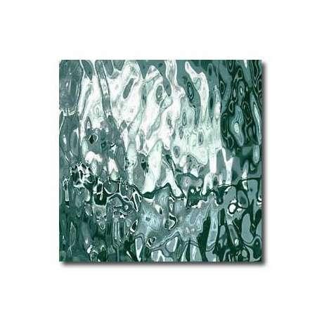 Miroir coloré vert