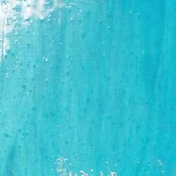 Verre transparent bleu lumineux