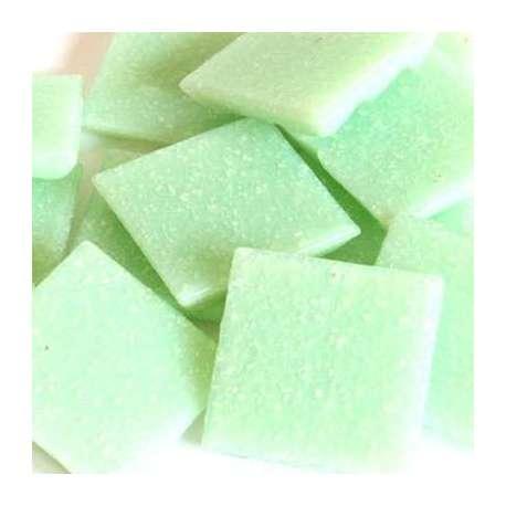 Vert d'eau pate de verre