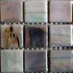 Opaline gris clair chiné
