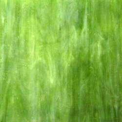 Verre vert marbré