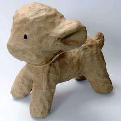 Mouton en volume à décorer - 18 x 17 cm