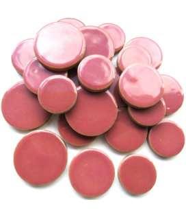Céramique ronde rose