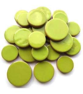 Céramique ronde kiwi
