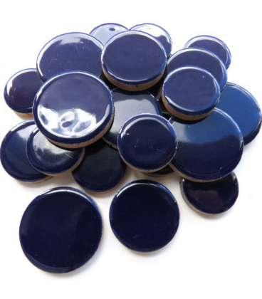 Céramique indigo