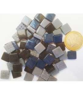 mini Briare noir, gris, bleu de chine en mélange