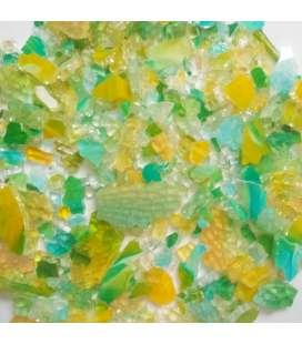 crackle vert jaune