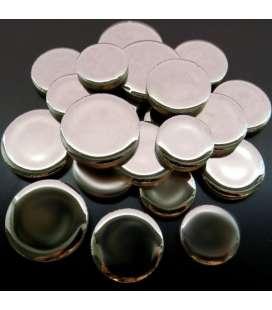 céramique ronde argent
