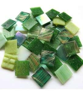 mix pâte de verre vert