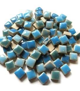 Mini céramique émaillée bleu lagon