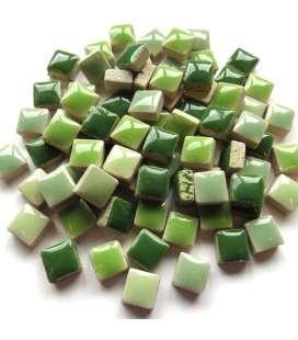Mini céramique mix vert sapin, eucalyptus...