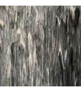 Verre Gris marbré opaque