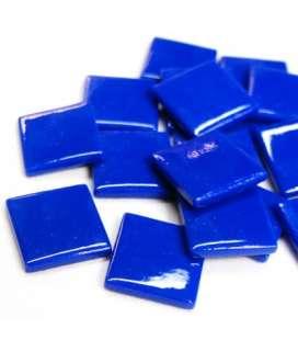 pâte de verre bleu soutenu