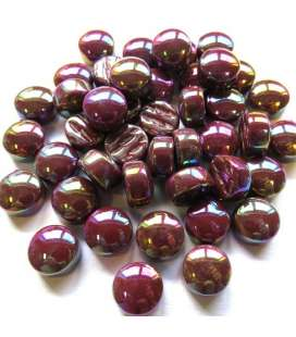 Mini pastilles Bordeaux opalescent