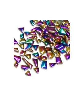 formes irrégulières métallisées
