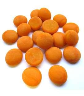 Bille japonaises orange mat, superbe et unique