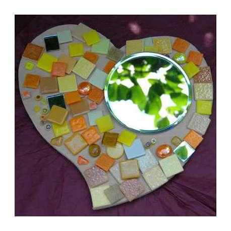 Kit mosaique Coeur