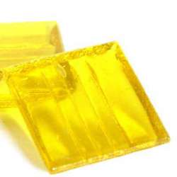 Pâte de verre jaune