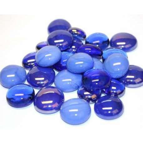 Harmonie billes plates bleues