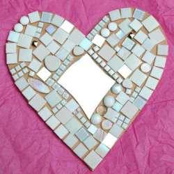 Kit mosaique Coeur haut