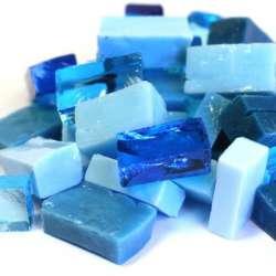 Smalt camaieu bleu turquoise