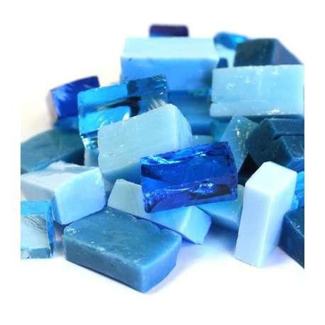 Smalt camaieu bleu clair