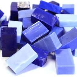 Smalt camaieu bleu cobalt
