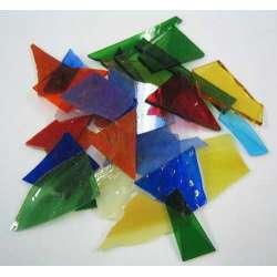 Verre coloré mélange par 100g