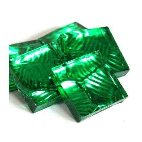 Miroir mosaique vert