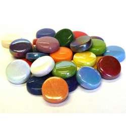 Grandes pastilles multicolores