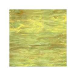 Verre jaune vert veiné