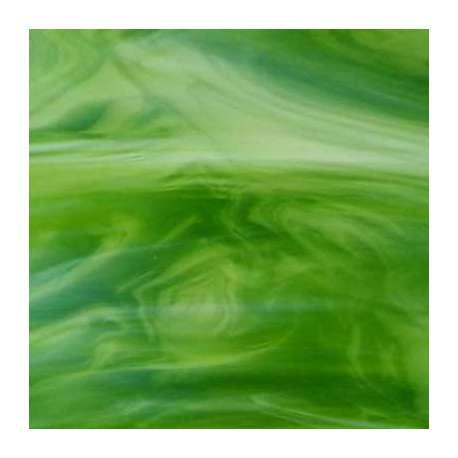 Verre jaune vert