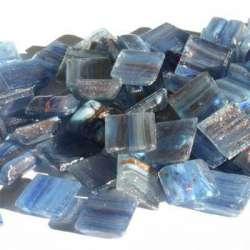 Micro métallisée bleu pervenche