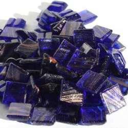 Micro métallisée bleu nuit