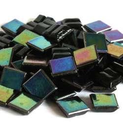 Micro perle noire nacrée