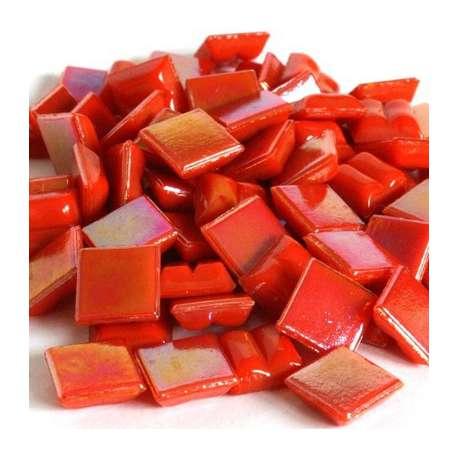 Micro agathe rouge nacrée