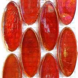 Calissons de verre irrisés Bombay soldés -25%
