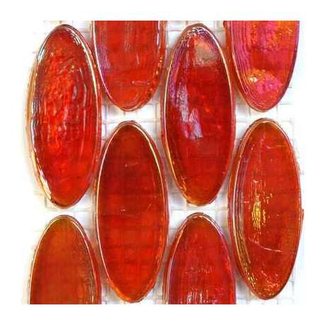 Calissons de verre irrisés Bombay