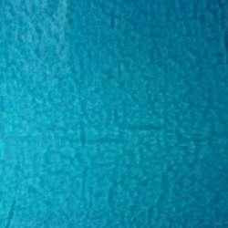 Verre artisanal bleu transparent pour mosaique