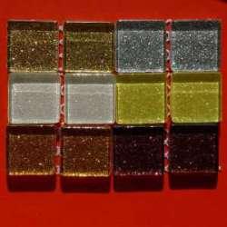 Pailletés de noël par 12 pièces 6 couleurs
