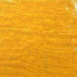 Verre artisanal topaze transparent pour mosaique