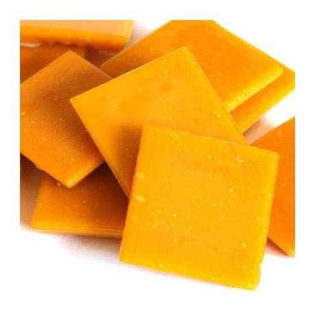 Mandarine pate de verre mosaique