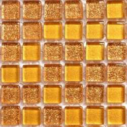 Micro pailletée or foncé